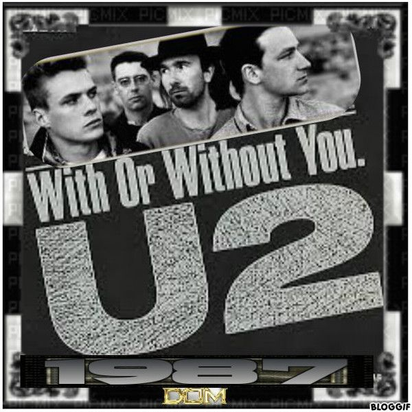 canciones u2 with or without you: